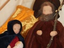 Maria mit Joseph und dem Christkind